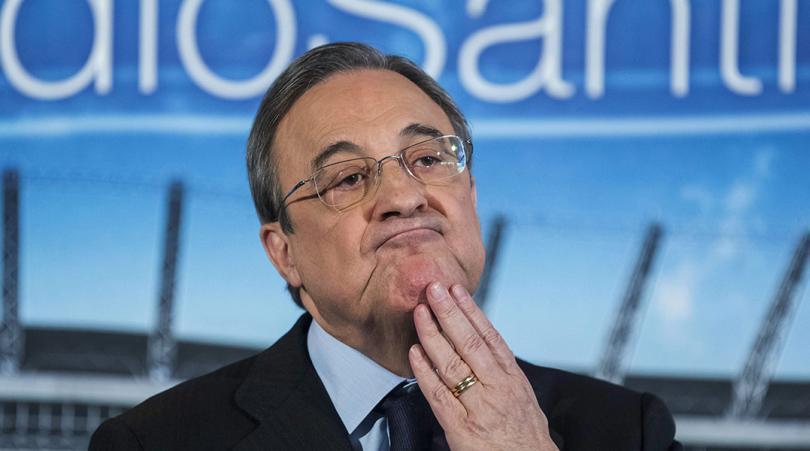 """Florentino Pérez """"A ce moment-là, personne ne voulait hériter du PSG"""""""
