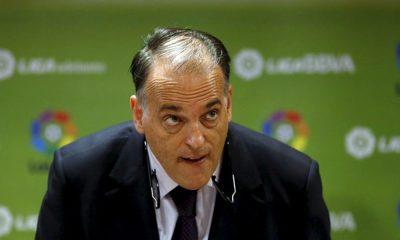 """Javier Tebas """"Le PSG devrait être exclu de la Ligue des Champions"""""""
