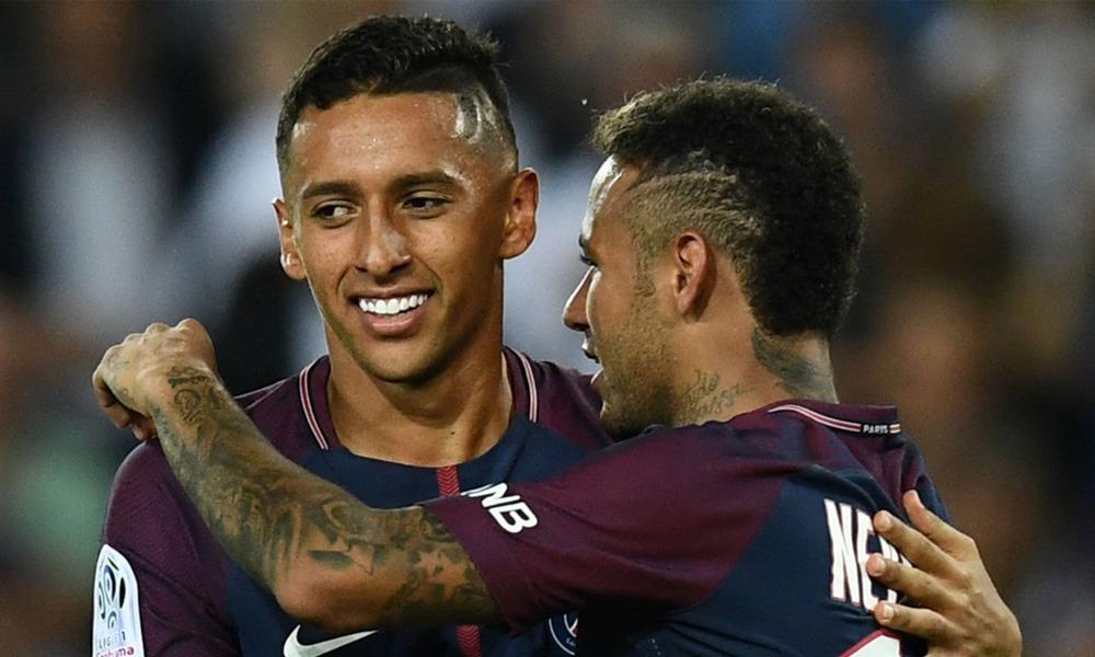 """Marquinhos """"Neymar ne va pas se priver de prendre le ballon pour faire mal à l'adversaire"""""""