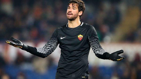 Mercato - Alisson Becker il y a 0 chance qu'il parte, affirme l'AS Rome