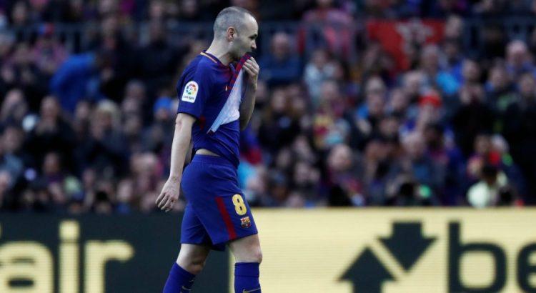 Mercato - Le PSG et Manchester City espèrent convaincre Iniesta de ne pas aller en Chine, selon AS