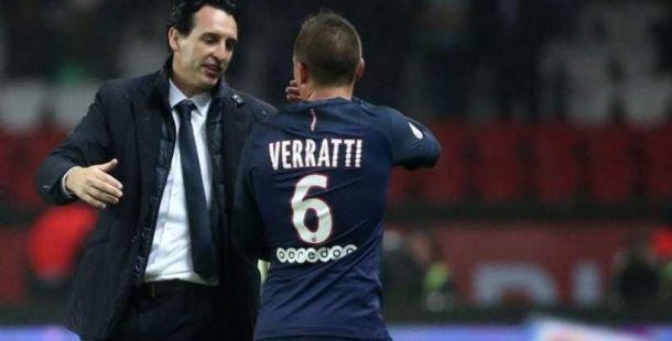 "Marco Verratti ""Si Unai Emery reste, ça me fera plaisir"""