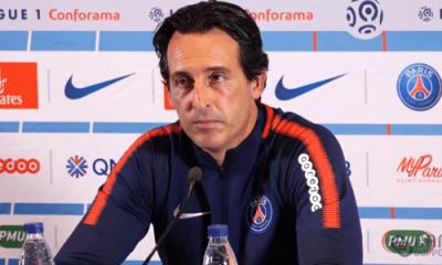 PSGGuingamp - Emery Parfois, les joueurs peuvent jouer sans se donner à 100%