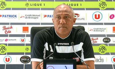 """PSG/Guingamp - Kombouaré """"je suis vraiment content, fier. On s'est comporté en hommes"""""""