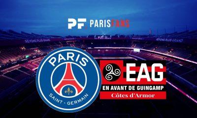 PSGGuingamp - Les équipes officielles