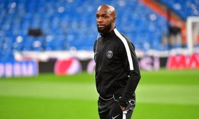 AS Saint-Etienne/PSG - L'entraînement avec 3 absents et Lassana Diarra à part