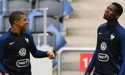 Pogba Mbappé est venu comme un phénomène...En Equipe de France, il est en place