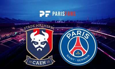 Caen/PSG - Le groupe caennais :