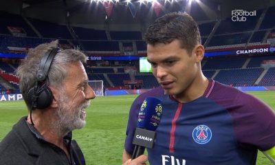 """PSG/Monaco: Silva """"C'était magnifique. On a tout fait pour bien célébrer ce titre"""""""