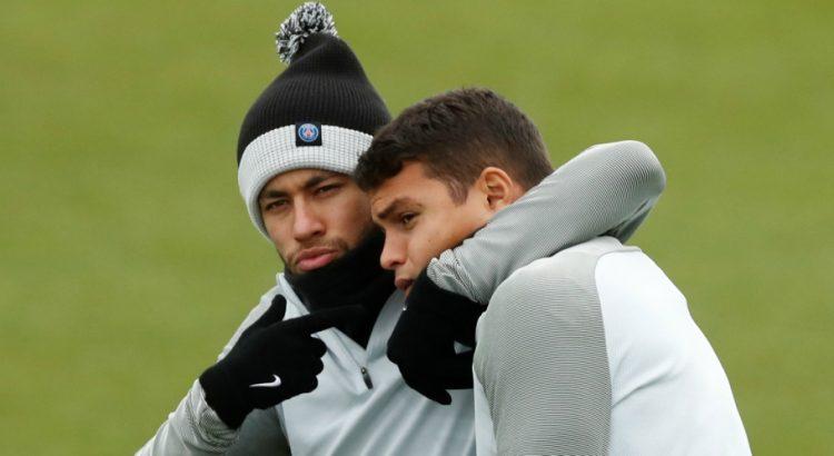 Thiago Silva Je veux dédier ce titre à Neymar...Il a beaucoup souffert