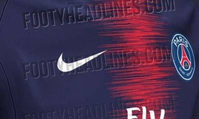 De nouvelles images du maillot domicile 2018/2019 du PSG, le sismographe se confirme