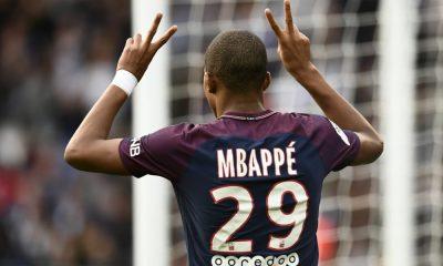 Kylian Mbappé célébration