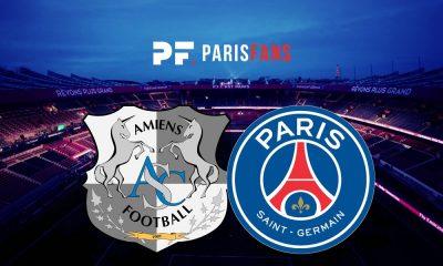 Amiens/PSG - Les équipes officielles :
