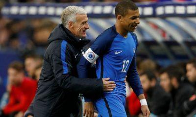 Didier Deschamps + Kylian Mbappé