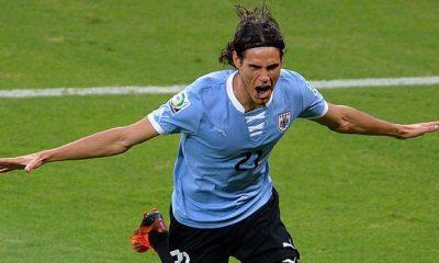 Edinson Cavani présent dans la pré-sélection de l'Uruguay pour la Coupe du Monde 2018
