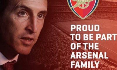 Anciens - Unai Emery s'est annoncé à Arsenal, mais c'était un peu trop tôt