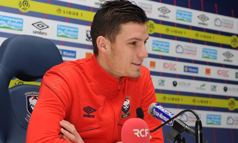 """Caen/PSG - Guilbert """"Le PSG a beaucoup de joueurs de qualité"""""""