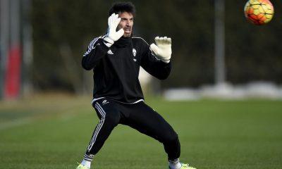 Gianluigi Buffon entraînement