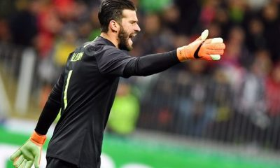 Mercato - Alisson Becker pourrait bien prolonger son contrat à l'AS Rome, selon Il Romanista