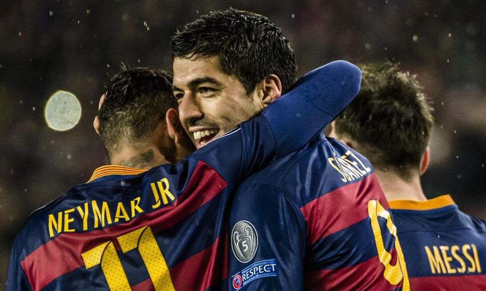 """Suarez """"Neymar? Son départ a fait mal...Je ne crois pas qu'il soit parti pour l'argent"""""""