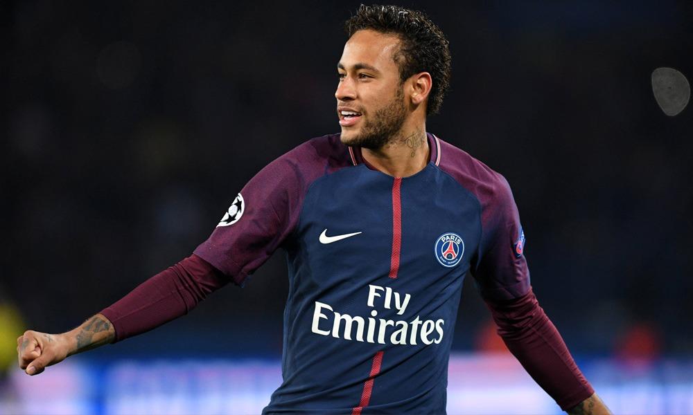 Neymar joie