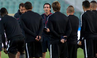 Unai Emery vestiaire PSG