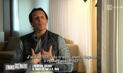 Unai Emery interview Neymar