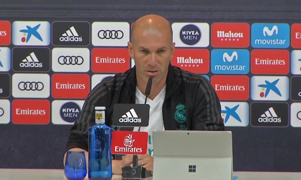 Zidane «Neymar au Real Madrid? Ce n'est pas à moi de parler de ça»