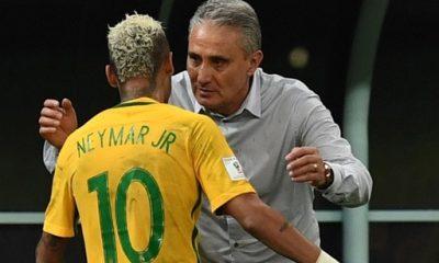 """Brésil/Suisse - Tite """"Neymar n'est pas à 100%....il est en état de jouer"""""""