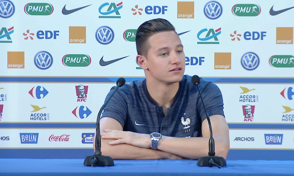 Florian Thauvin Equipe de France
