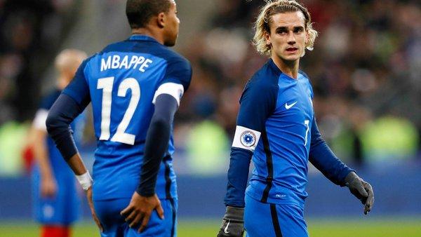 FrancePérou - Les Bleus finalement annoncés en 4-2-3-1, toujours avec Mbappé