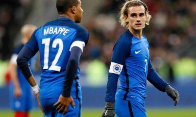 L'Equipe de France devrait jouer avec le trio Mbappé, Giroud et Griezmann contre le Pérou