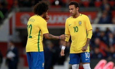 Marcelo Un jour, Neymar jouera au Real Madrid. Mais je ne sais pas quand