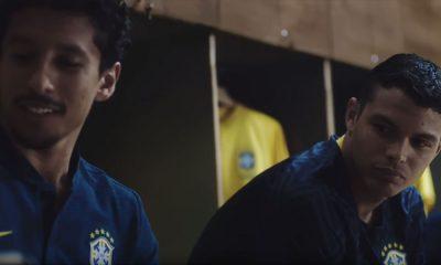 Marquinhos et Thiago Silva sont présents dans une pub Nike avec la Seleçao