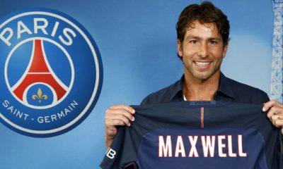 """Maxwell """"La vie de joueur est fantastique. Mais un joueur il faut arrêter. Je suis chanceux"""""""