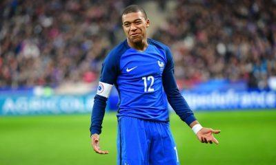 Mbappé est entré dans le 20 des joueurs convoqués en Equipe de France en étant au PSG