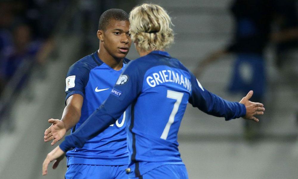 Mbappé + Griezmann Equipe de France