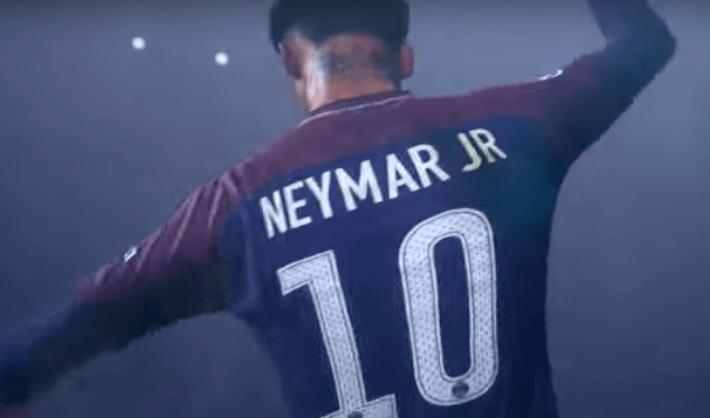 Neymar et le PSG très présents dans le trailer de FIFA 19