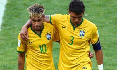 Neymar et Thiago Silva devraient être titulaire pour BrésilSuisse