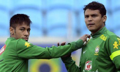 Neymar titulaire et Thiago Silva capitaine pour Brésil/Costa Rica
