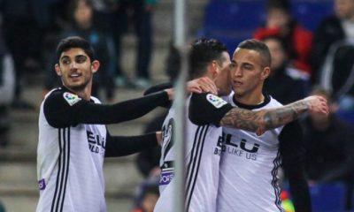"""Rodrigo """"J'imagine que Guedes souhaite continuer à Valence, mais ça ne dépend pas uniquement de son désir"""""""