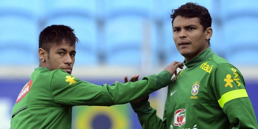 Thiago Silva L'insulte de Neymar J'ai été attristé par son comportement