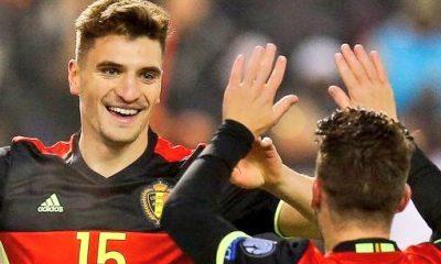 Thomas Meunier encourage l'Equipe de France jusqu'à un certain stade