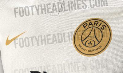 Le maillot extérieur du PSG pour la saison 2018-2019 annoncé par Footy Headlines