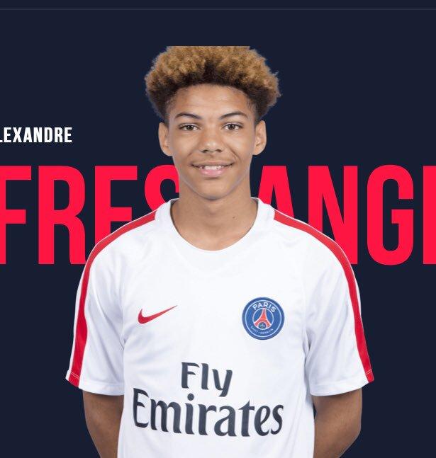 Alexandre Fressange a signé son contrat professionnel au PSG, confirme L'Equipe