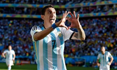 Angel Di Maria en lice pour le plus beau but de la Coupe du Monde