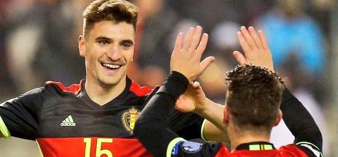 BelgiqueAngleterre - Meunier buteur lors de la victoire des Belges, qui finissent troisièmes