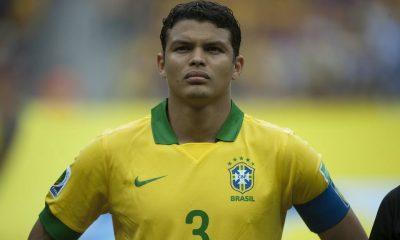 BrésilMexique - Les équipes officielles Neymar et Thiago Silva titulaires, le second est capitaine