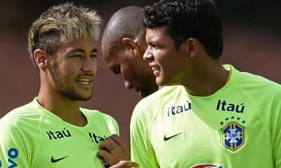 BrésilMexique - Thiago Silva Ce sera au tour de Neymar