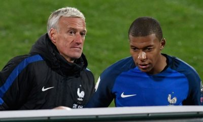 Didier Deschamps + Kylian Mbappé
